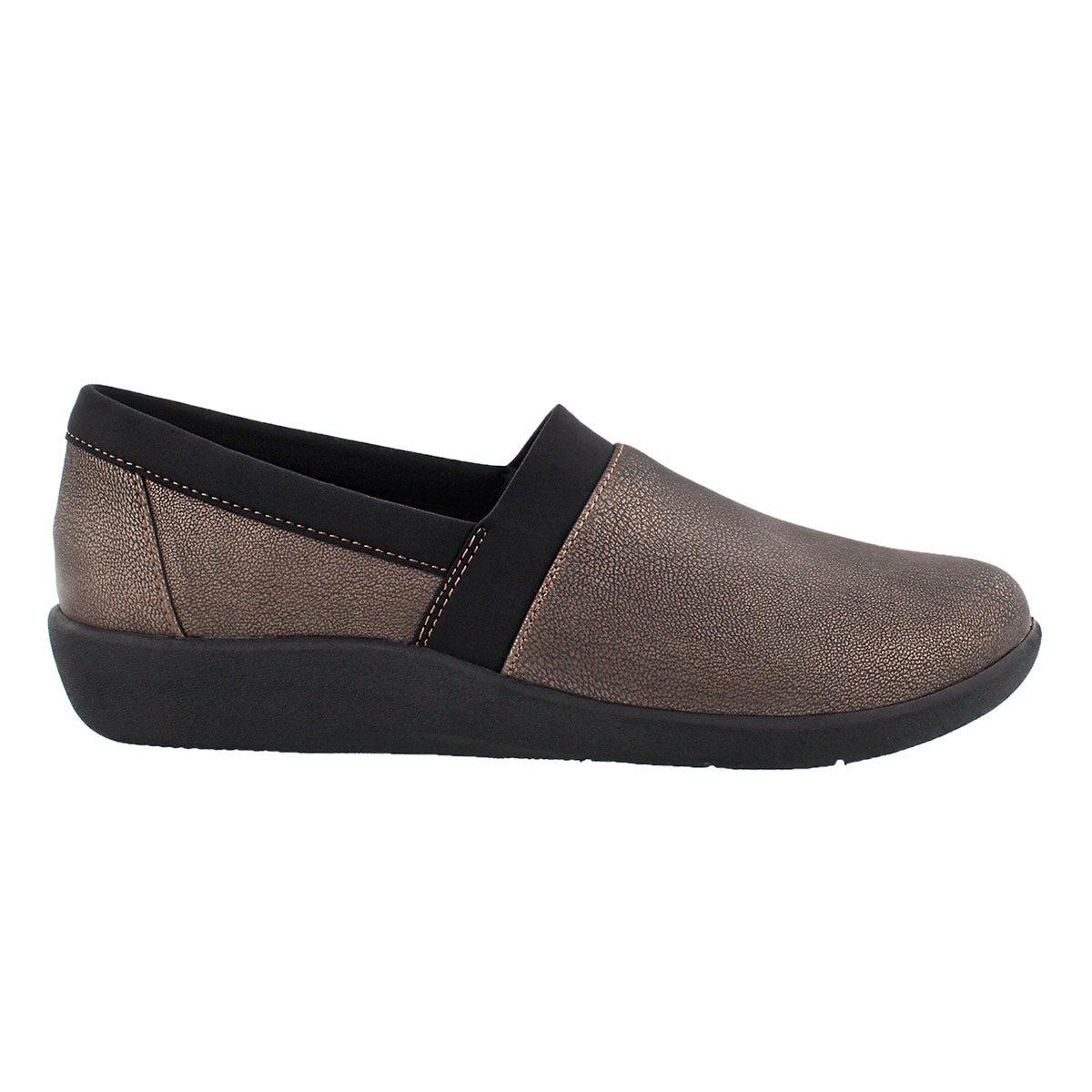 Lds Sillian Blair bronze slip on loafer