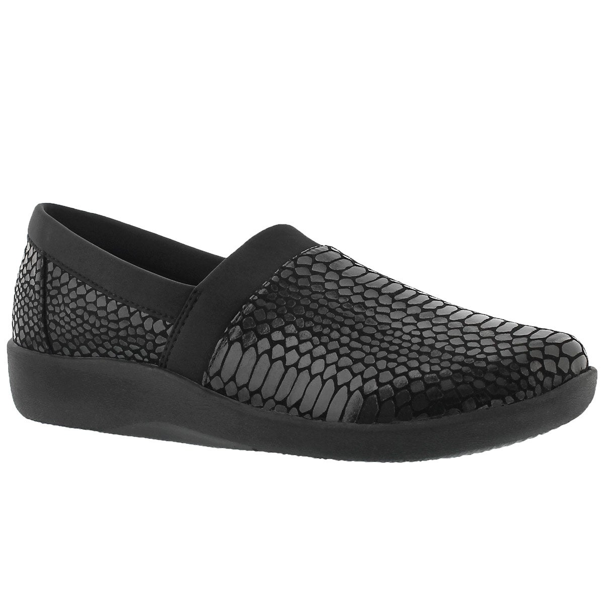 Lds Sillian Blair blk snk slip on loafer