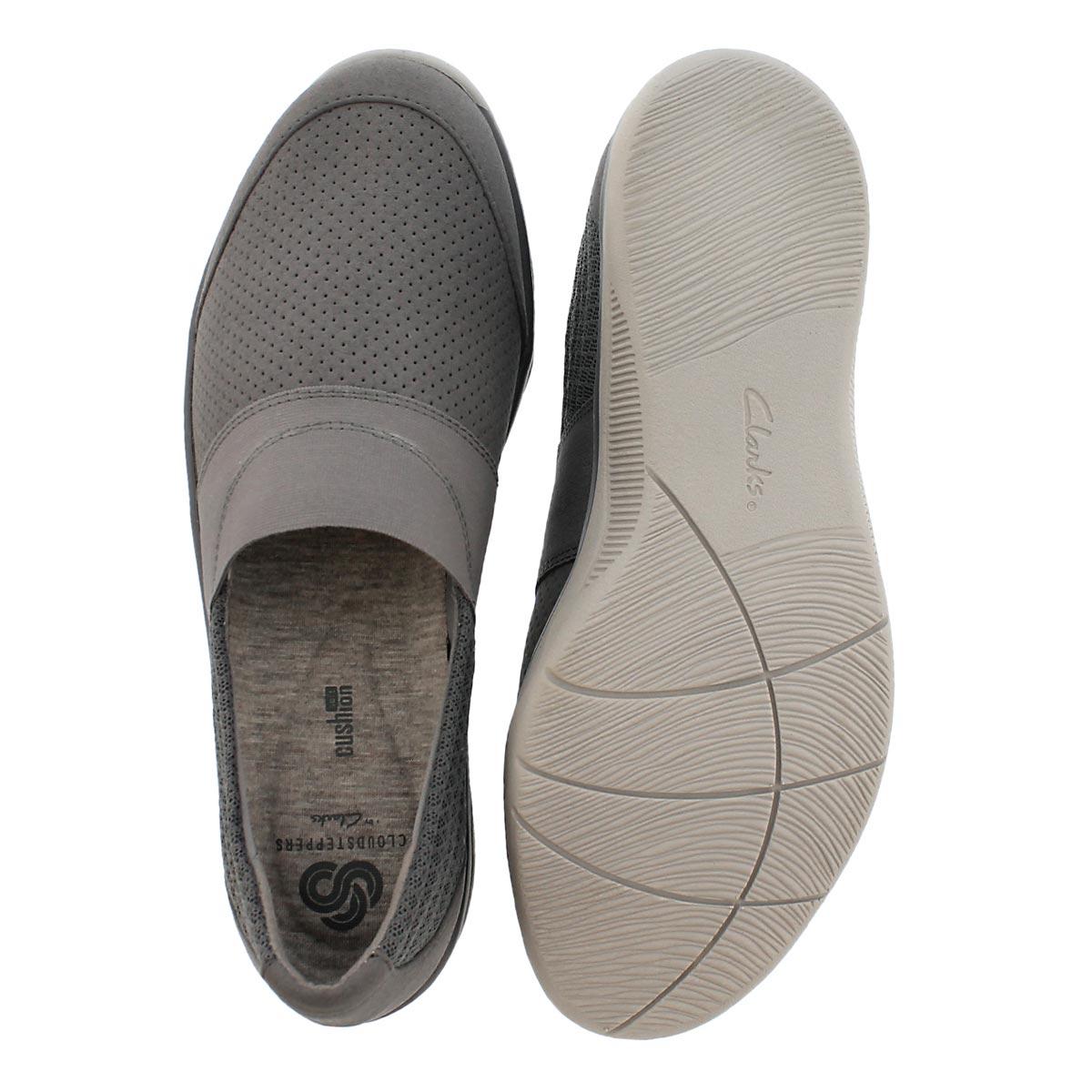 Lds Mckella Mesa grey casual slip on