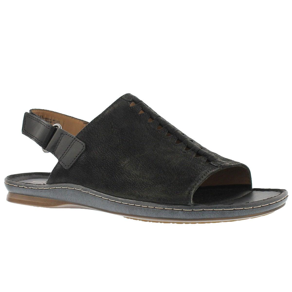 Women's SARLA FORTE black casual sandals