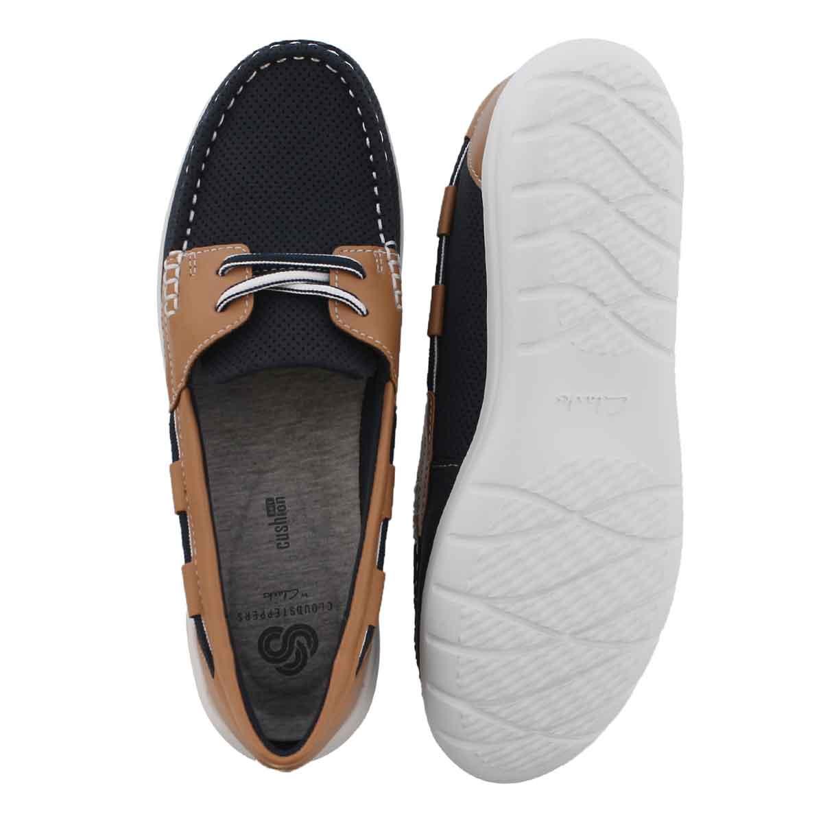 Lds Jocolin Vista navy boat shoe