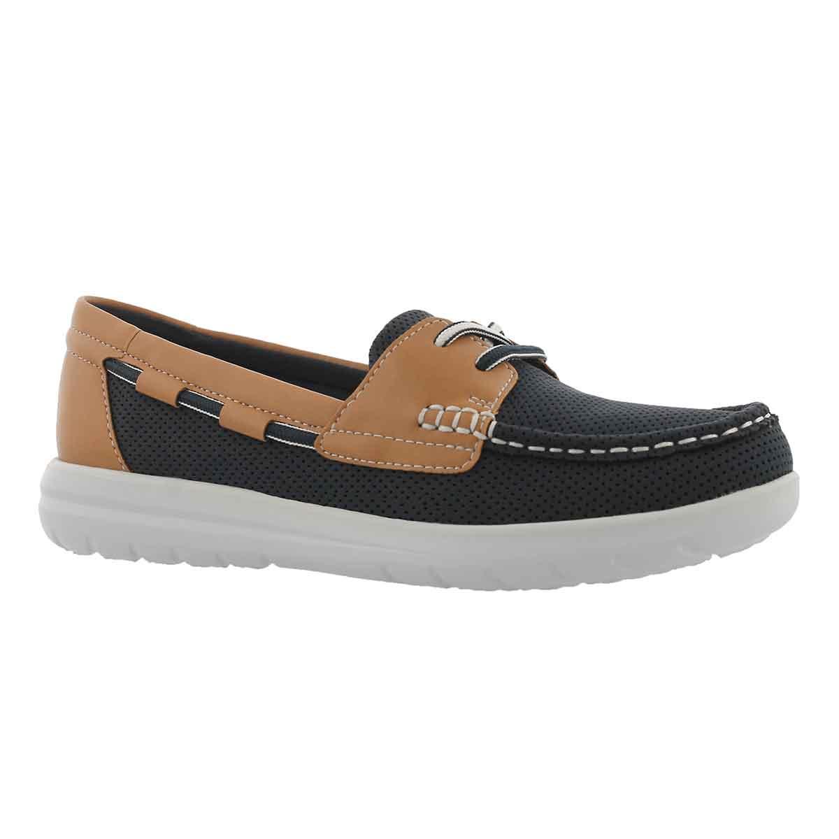 Women's JOCOLIN VISTA navy boat shoes