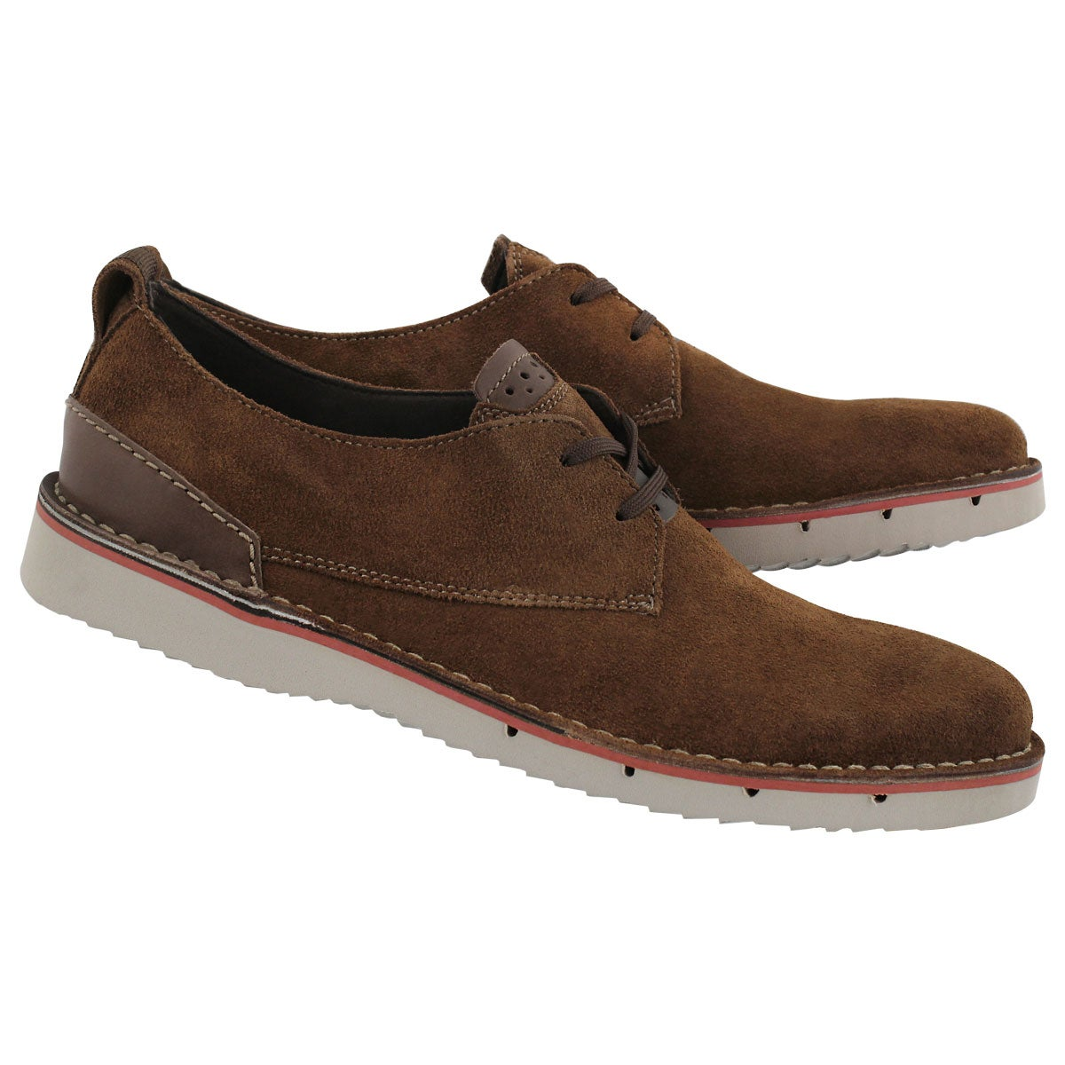 Mns Capler Plain brown casual oxford