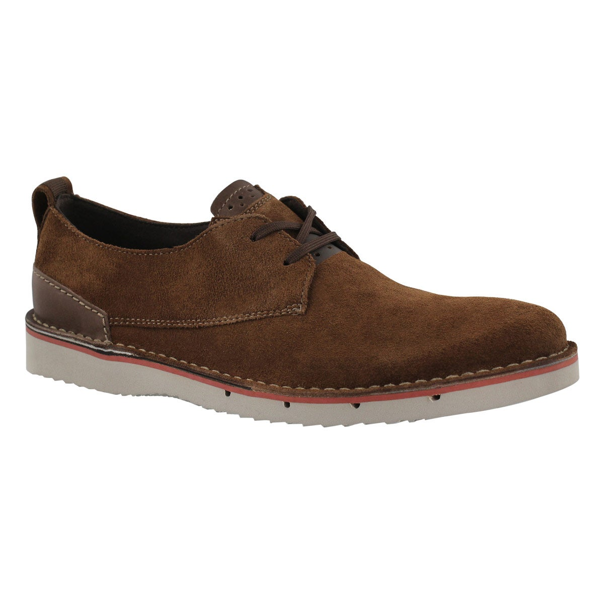 Men's CAPLER PLAIN brown casual oxfords
