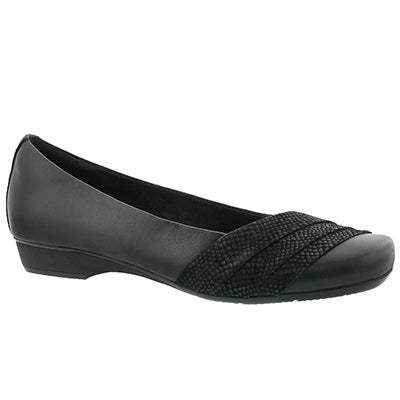 Lds Blanche Cacee black flat