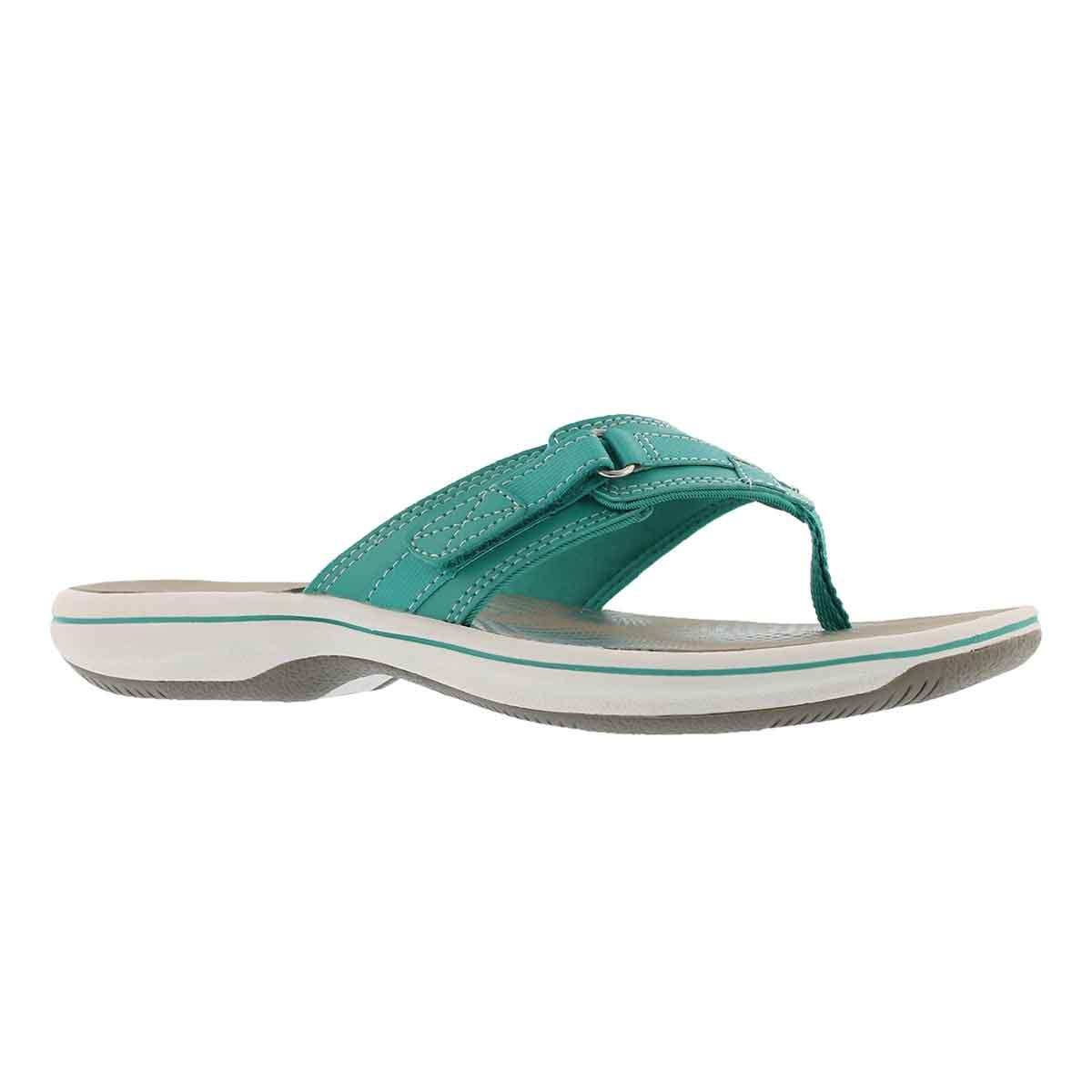 Women's BREEZE SEA red thong sandals