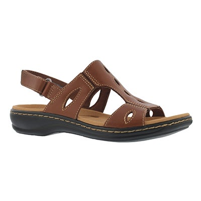 Lds Leisa Lakelyn tan casual sandal