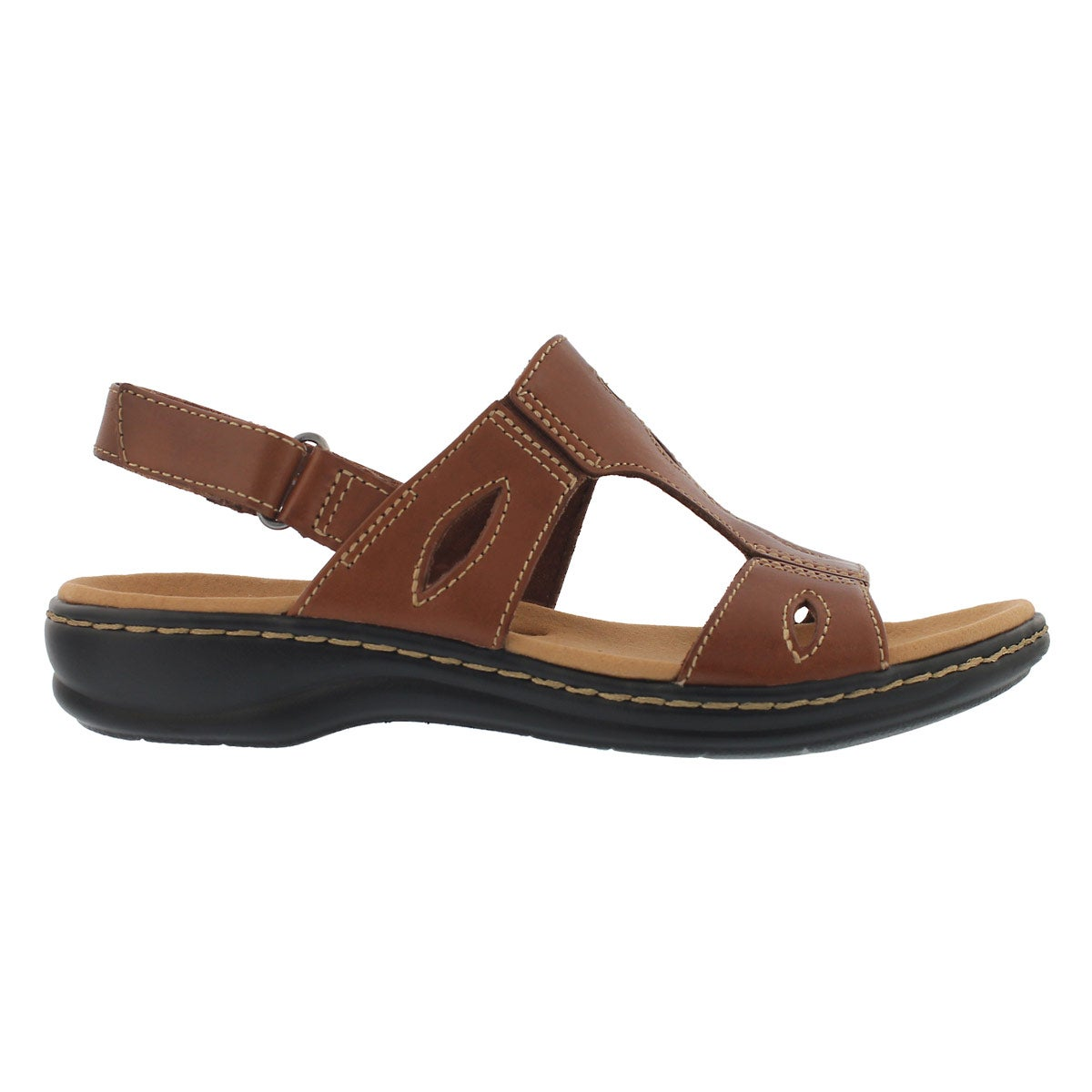 Lds Leisa Lakelyn tan casual sandal