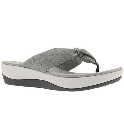 Sandale tong Arla Glison, gris, fem