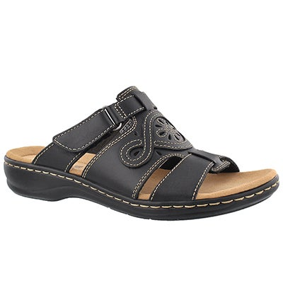 Lds Leisa Higley black casual slide sndl