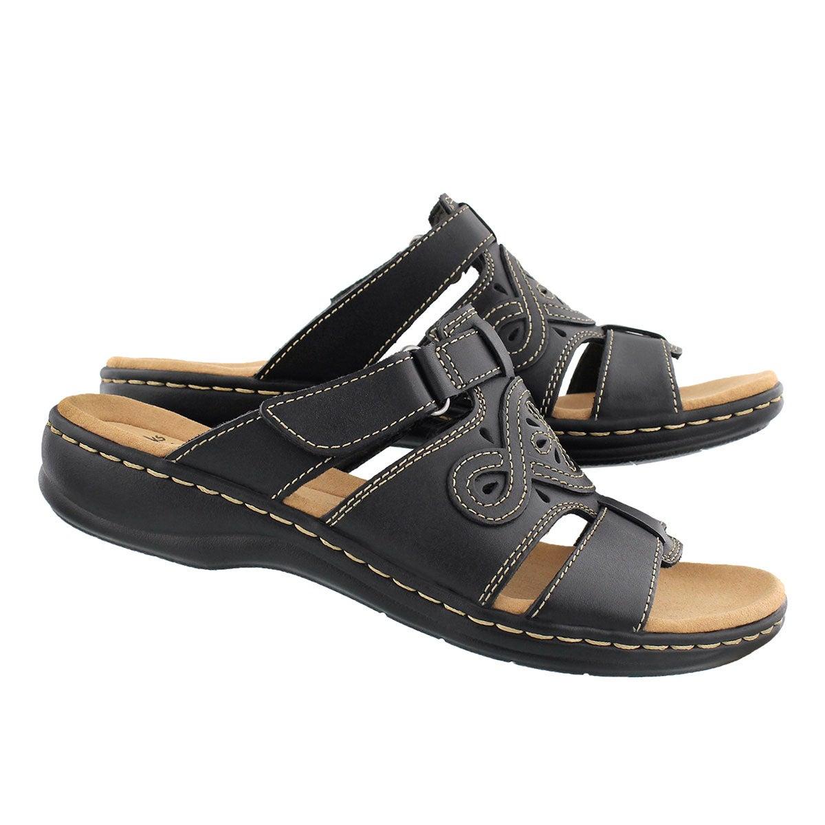 Lds Leisa Higley black casual slide sndl