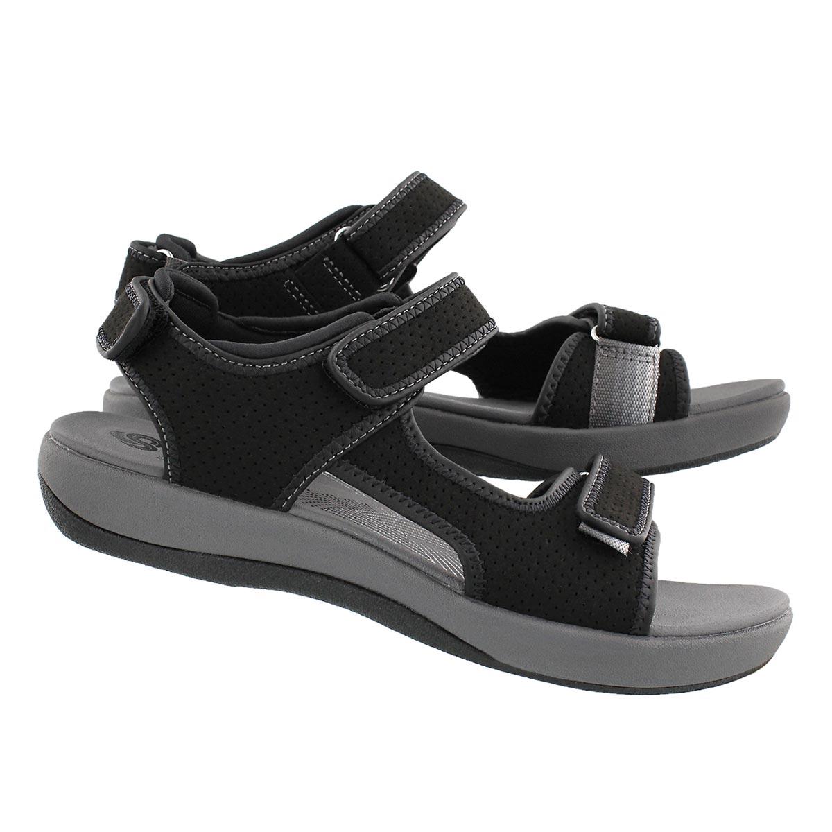 Lds Brizo Sammie black casual sandal