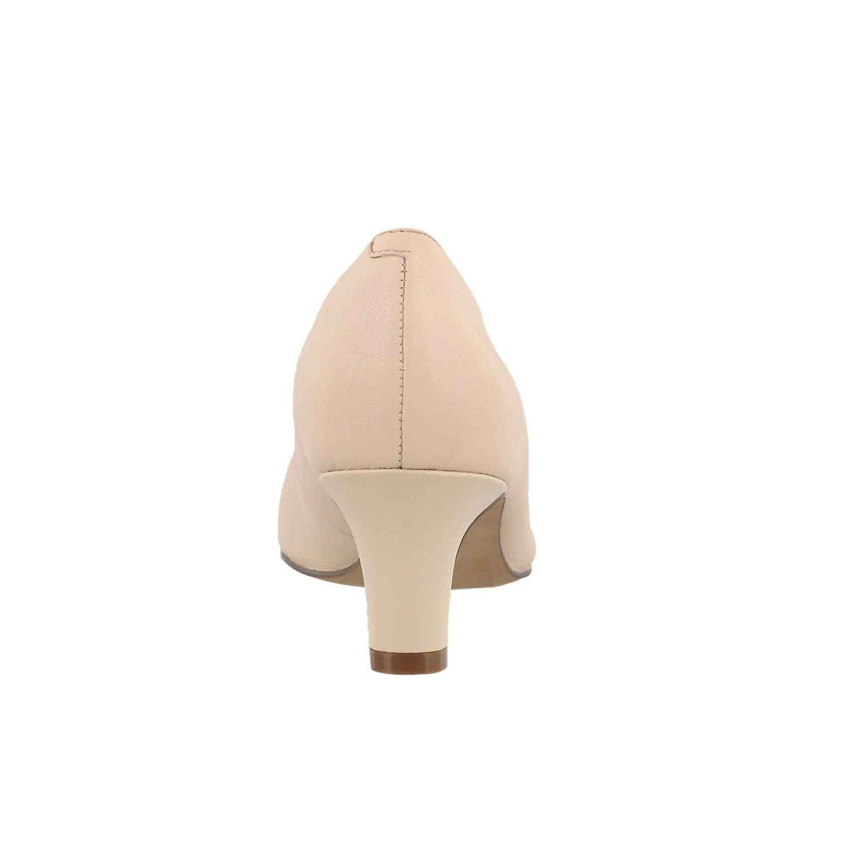Lds Crewso Wick nude pnk lthr dress heel