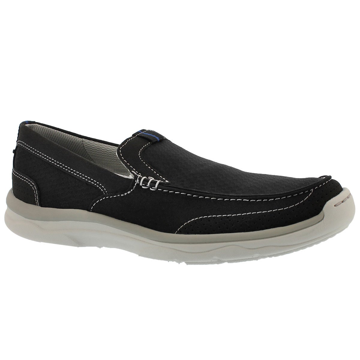 Men's MARUS STEP black casual slip on shoes