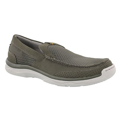 Mns Marus Step olive casual slip on shoe