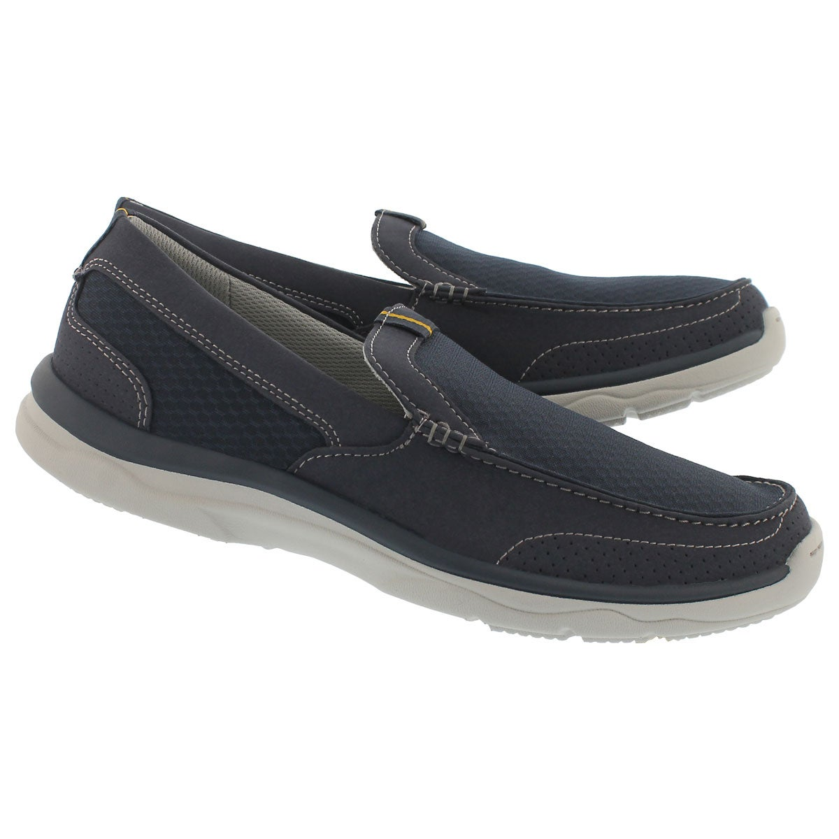 Mns Marus Step navy casual slip on shoe