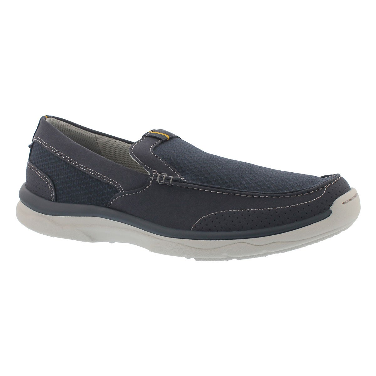 Men's MARUS STEP navy casual slip on shoes