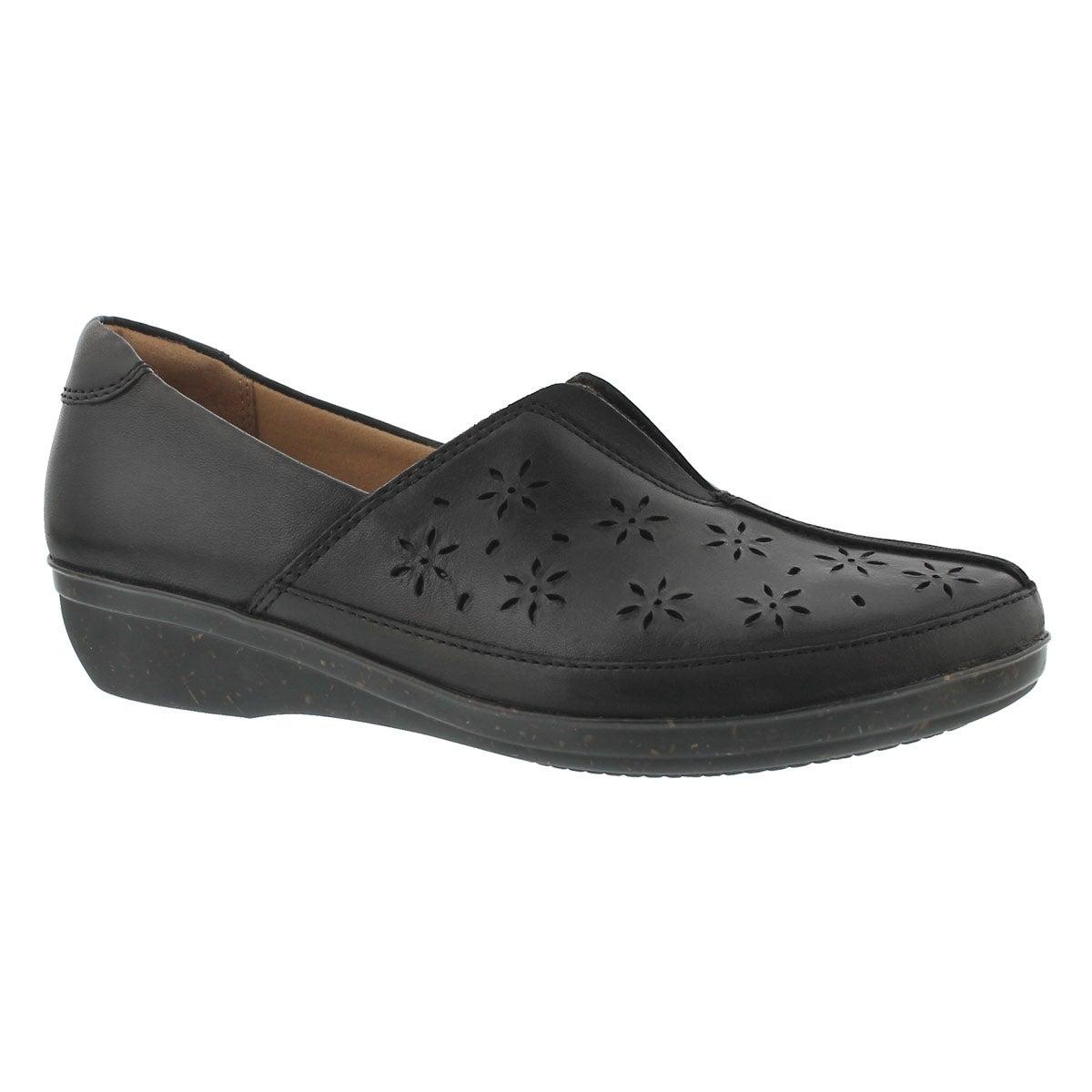 Women's EVERLAY DAIRYN black casual slipons - Wide