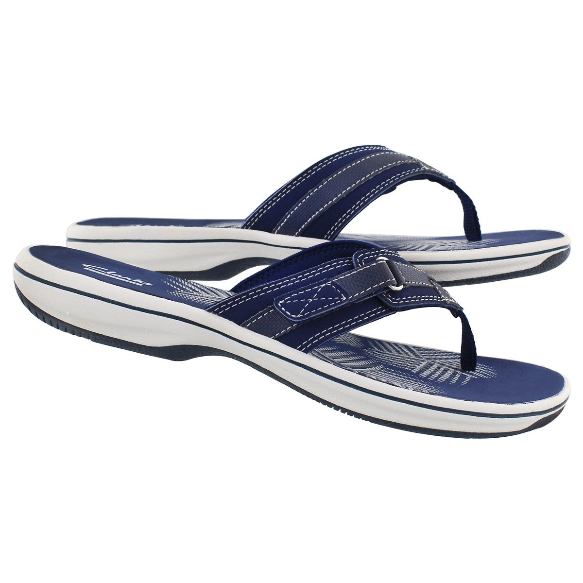 Lds Breeze Sea navy thong sandal
