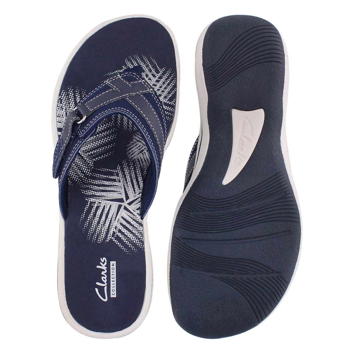Lds Breeze Sea navy thong sandal