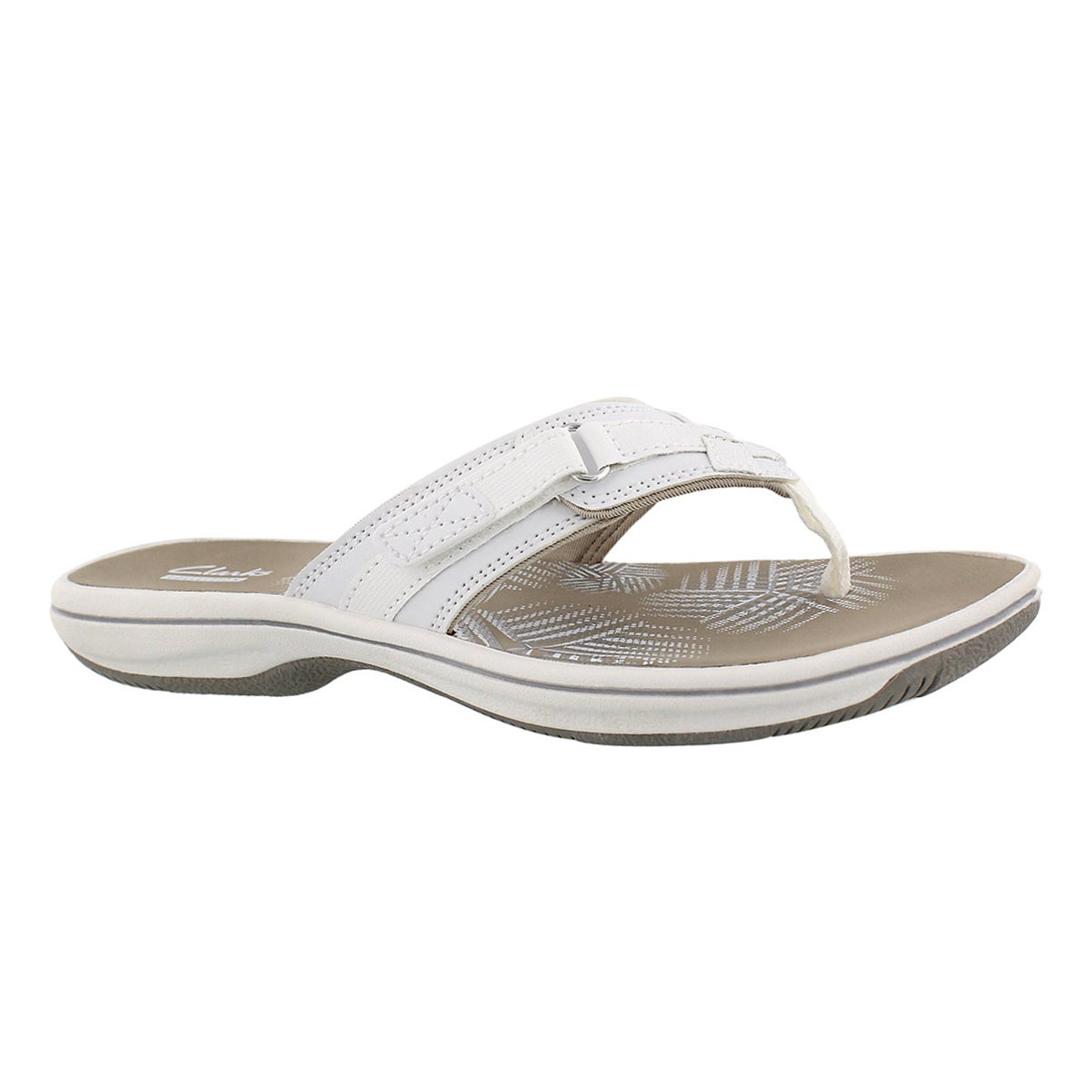 Women's BREEZE SEA white thong sandals