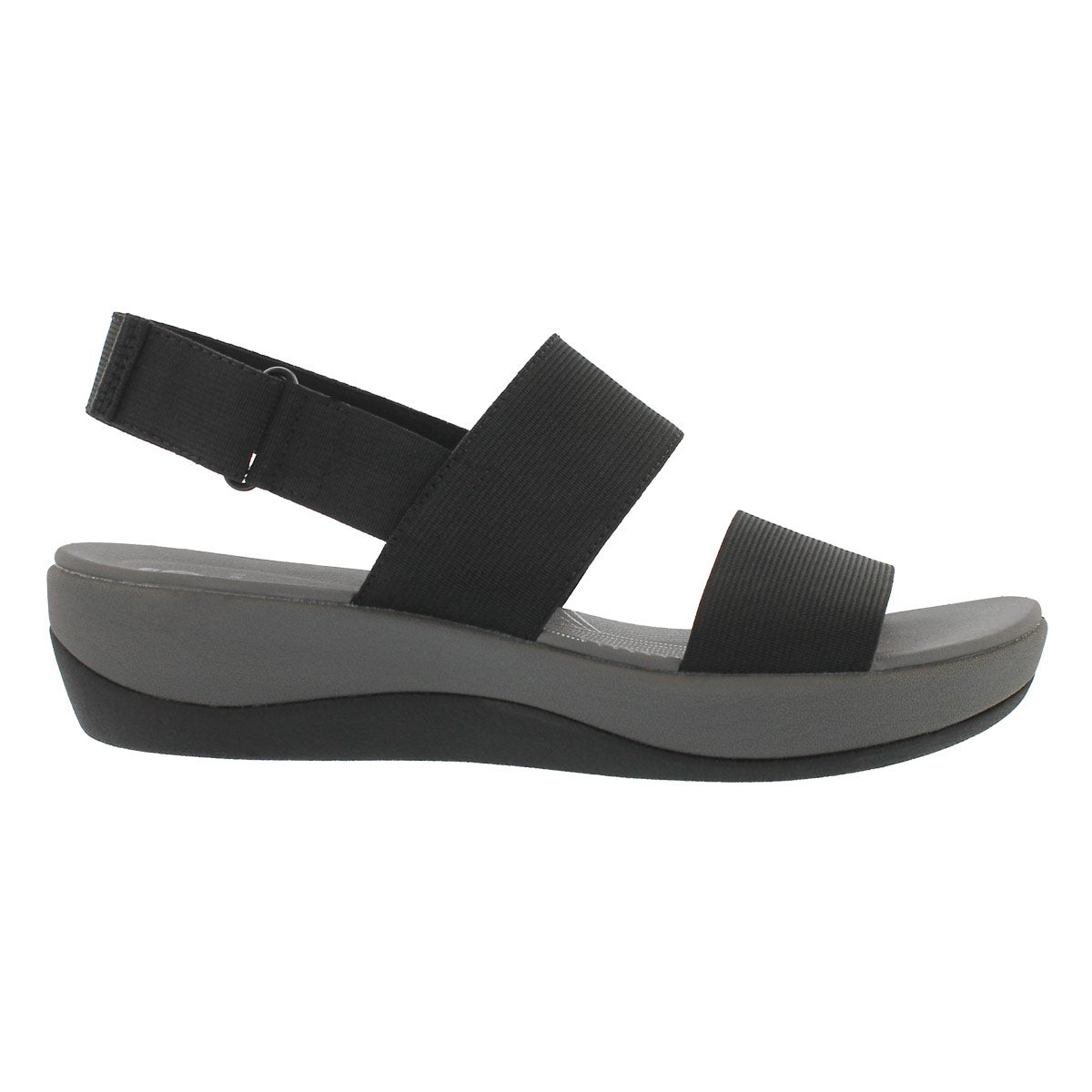 Lds Arla Jacory black wedge sandal