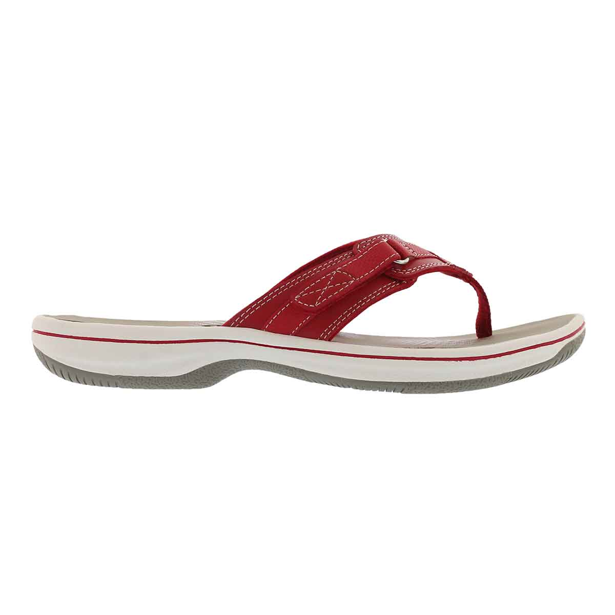 Lds Breeze Sea red thong sandal