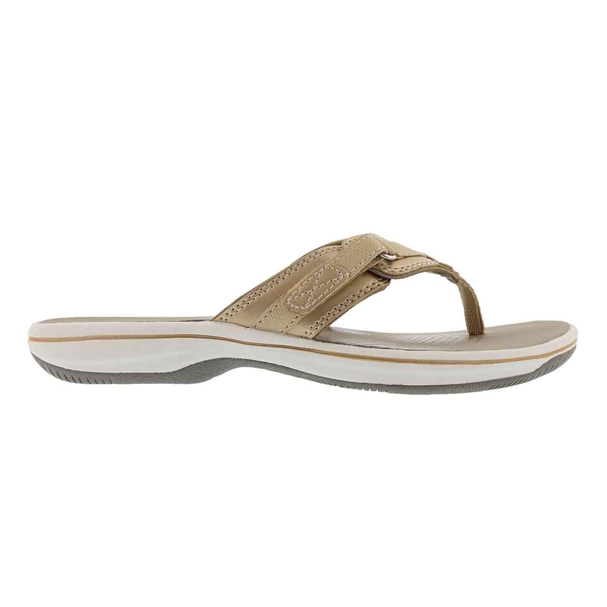 Lds Breeze Sea silver thong sandal
