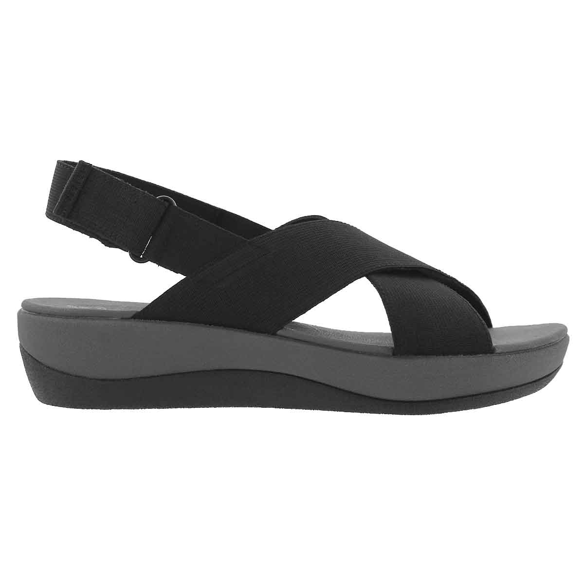 Lds Arla Kaydin black wedge sandal