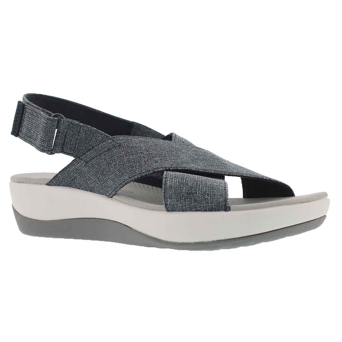 Women's ARLA KAYDIN navy/white wedge sandal