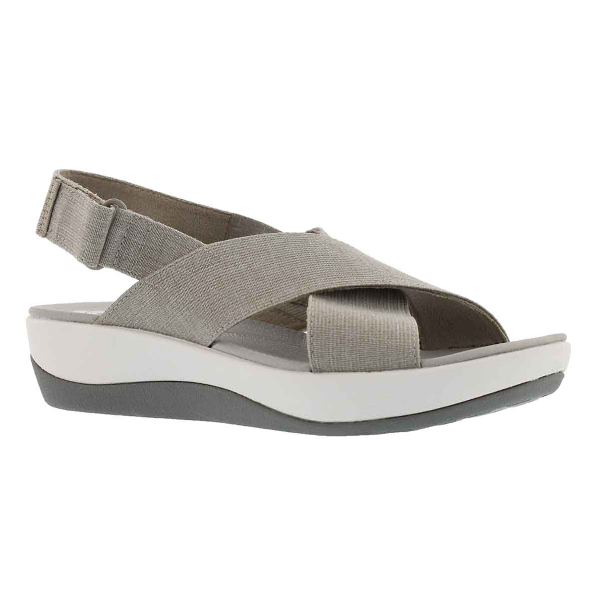 Women's ARLA KAYDIN sand/white wedge sandals