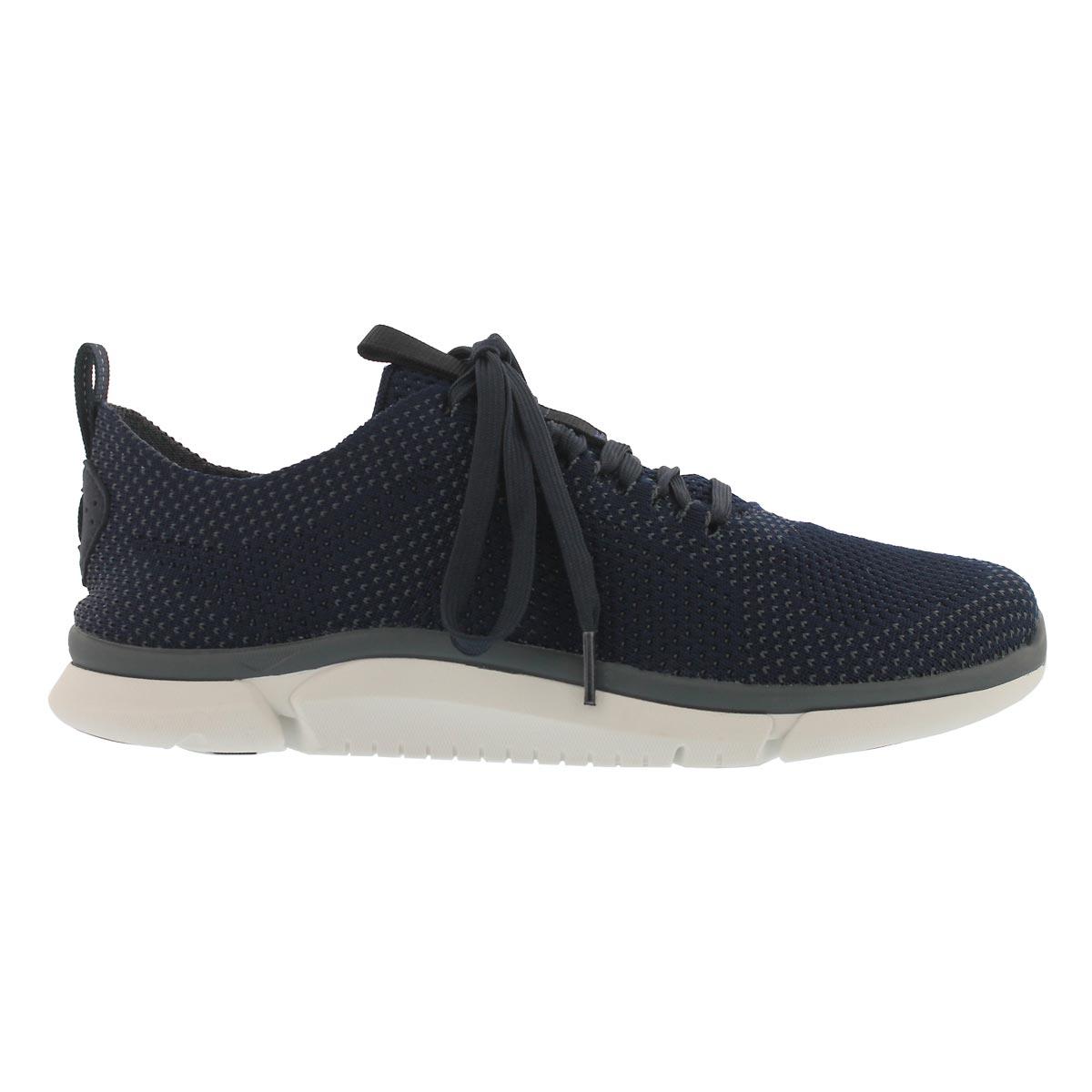 Mns Triken Run navy lace up sneaker