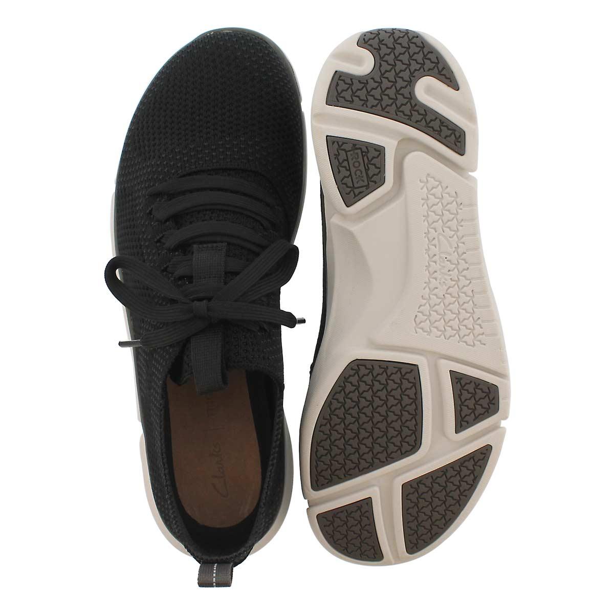 Mns Triken Run black lace up sneaker