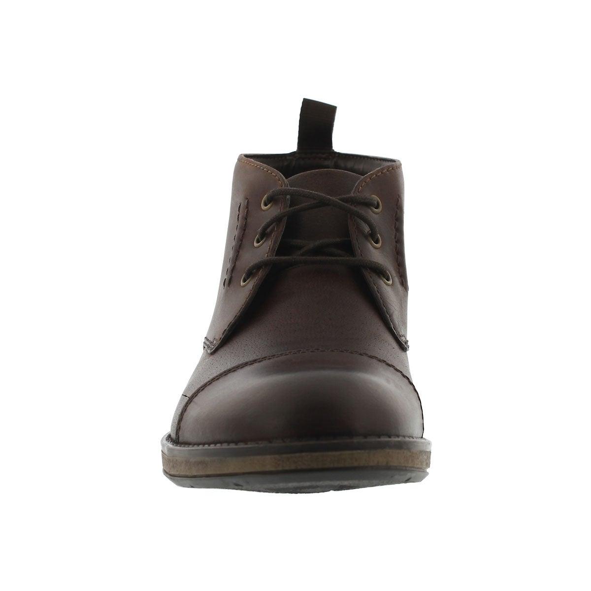 Mns Hinman Mid mahogany chukka boot