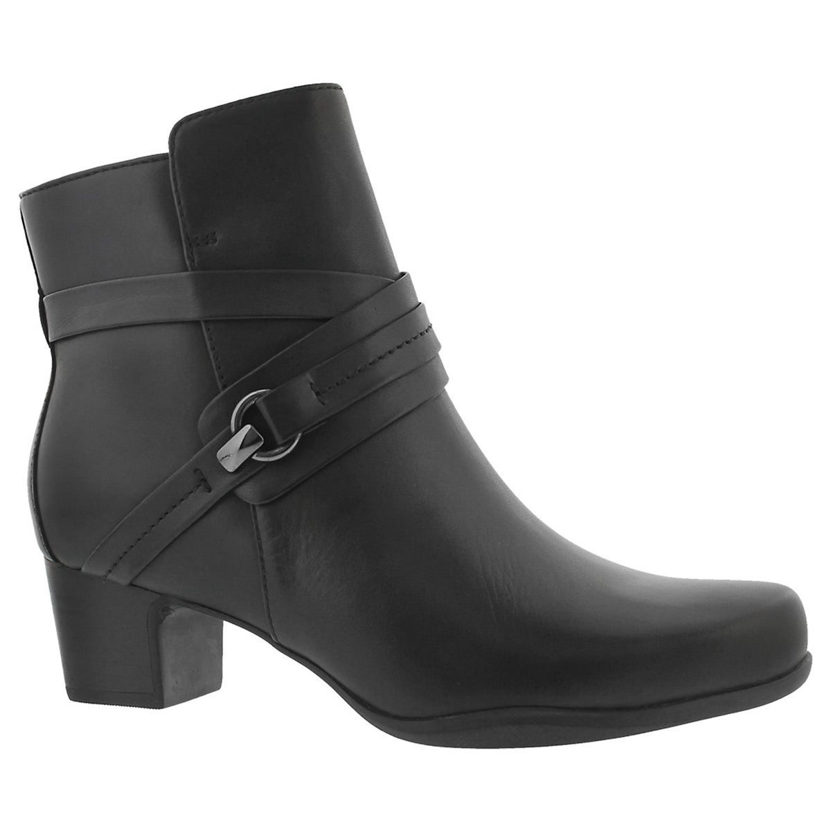 Women's ROSALYN PAGE blk waterproof dress boots