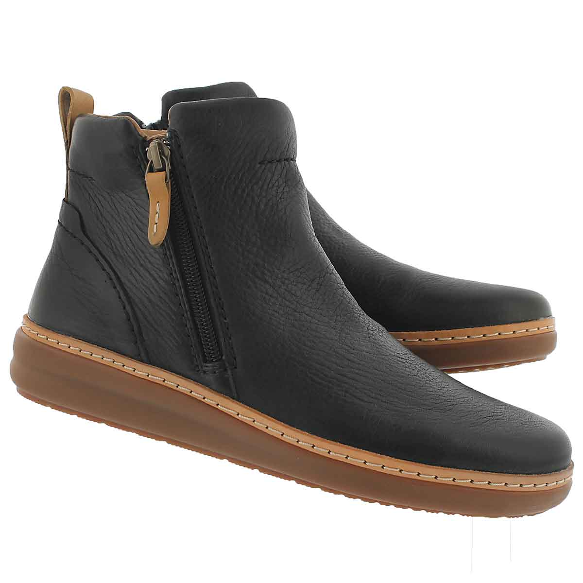 Lds Amberlee Rosi blk ankle boot