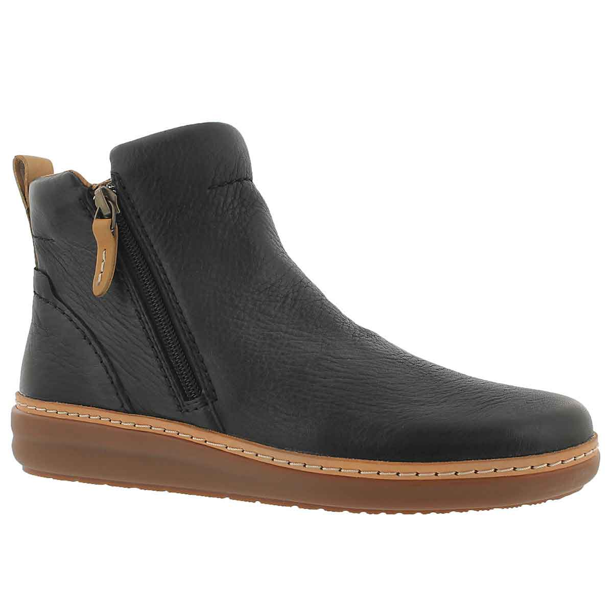 Women's AMBERLEE ROSI black ankle boots