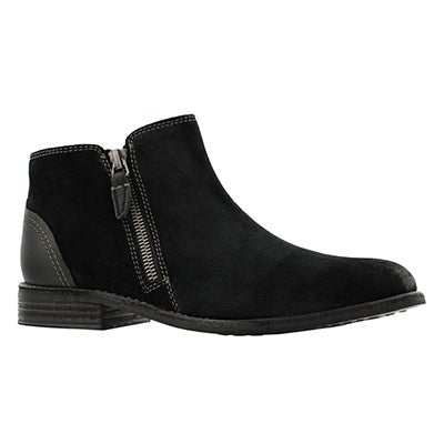 Lds Maypearl Juno black ankle boot