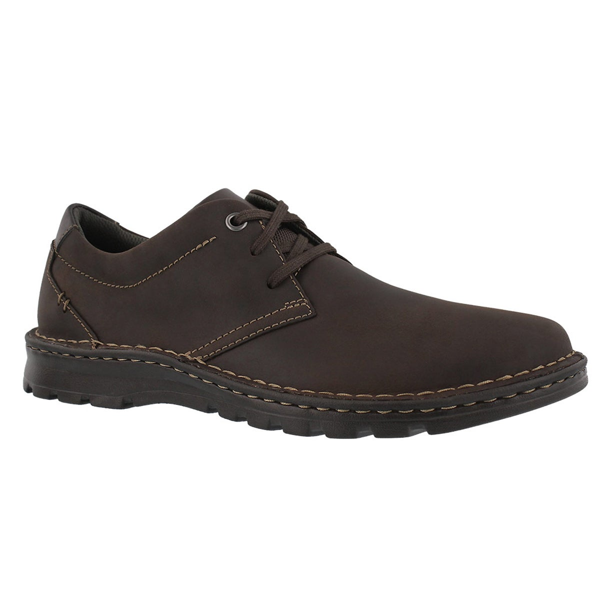 Men's VANEK PLAIN dark brown casual oxfords