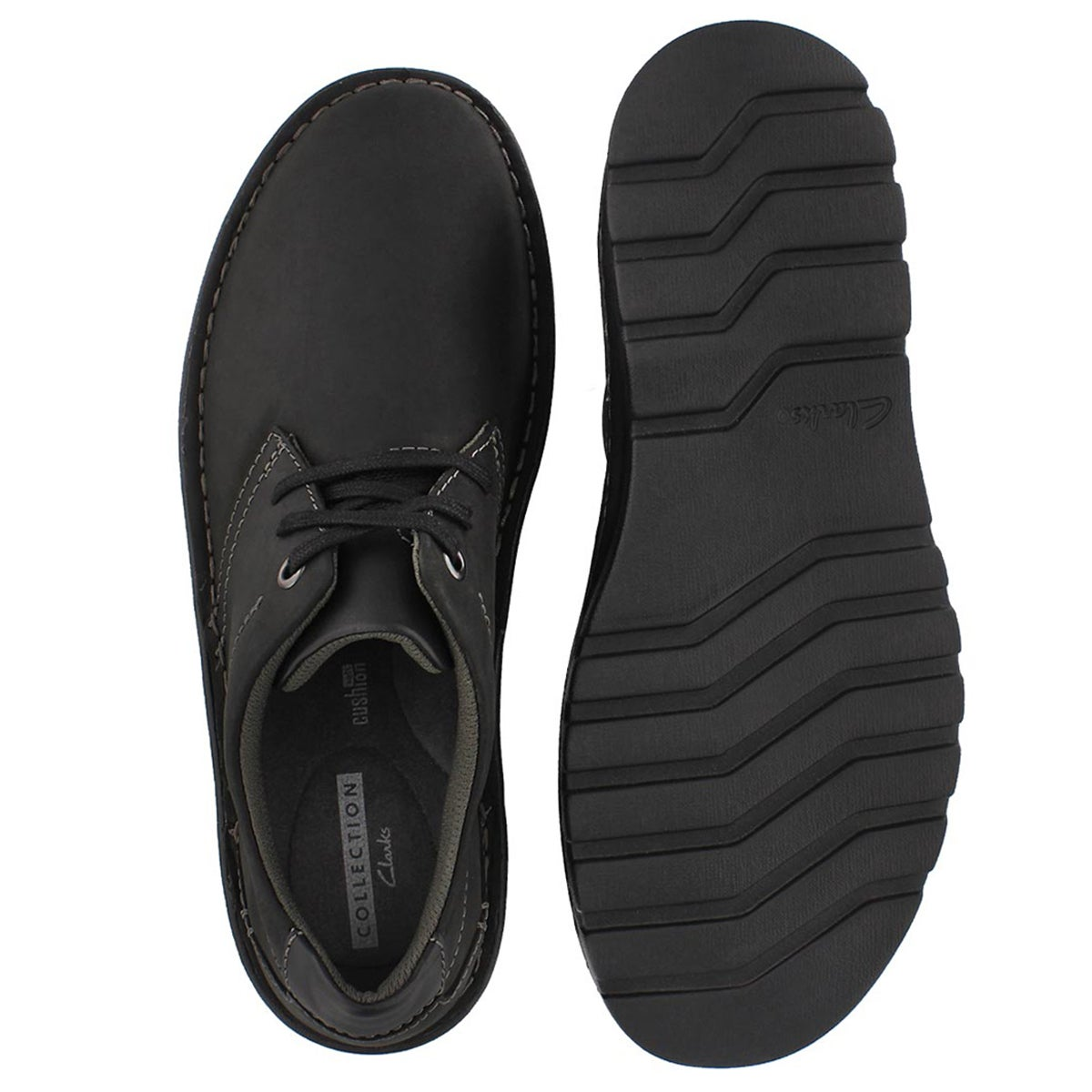 Mns Vanek Plain black casual oxford