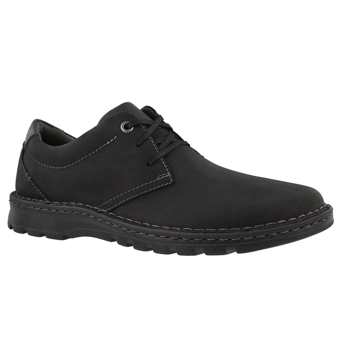 Men's VANEK PLAIN black casual oxfords