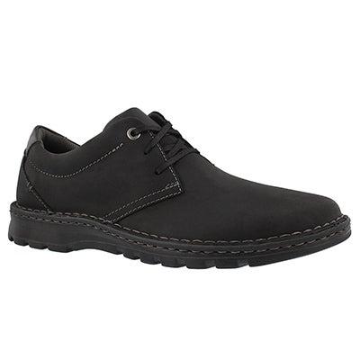 Mns Vanek Plain black casual oxford
