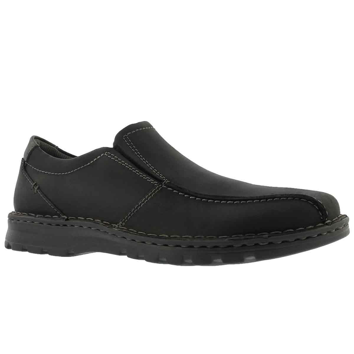 Men's VANEK STEP black casual slip ons