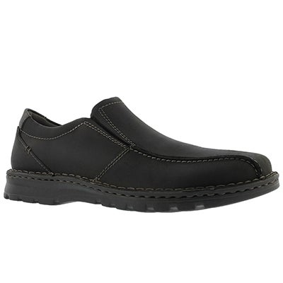 Mns Vanek Step black casual slip on