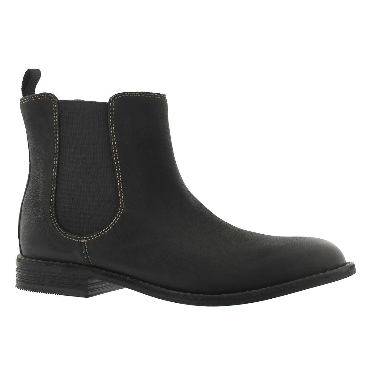 Women's Maypearl Nala Black Chelsea Boots by Clarks