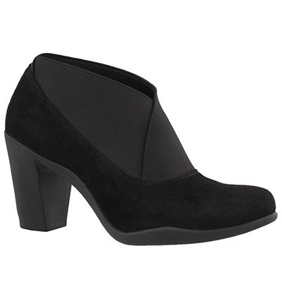 Lds Adya Luna blk dress heel