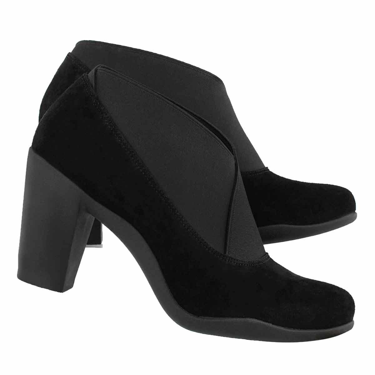 Lds Adya Luna blk dress heel