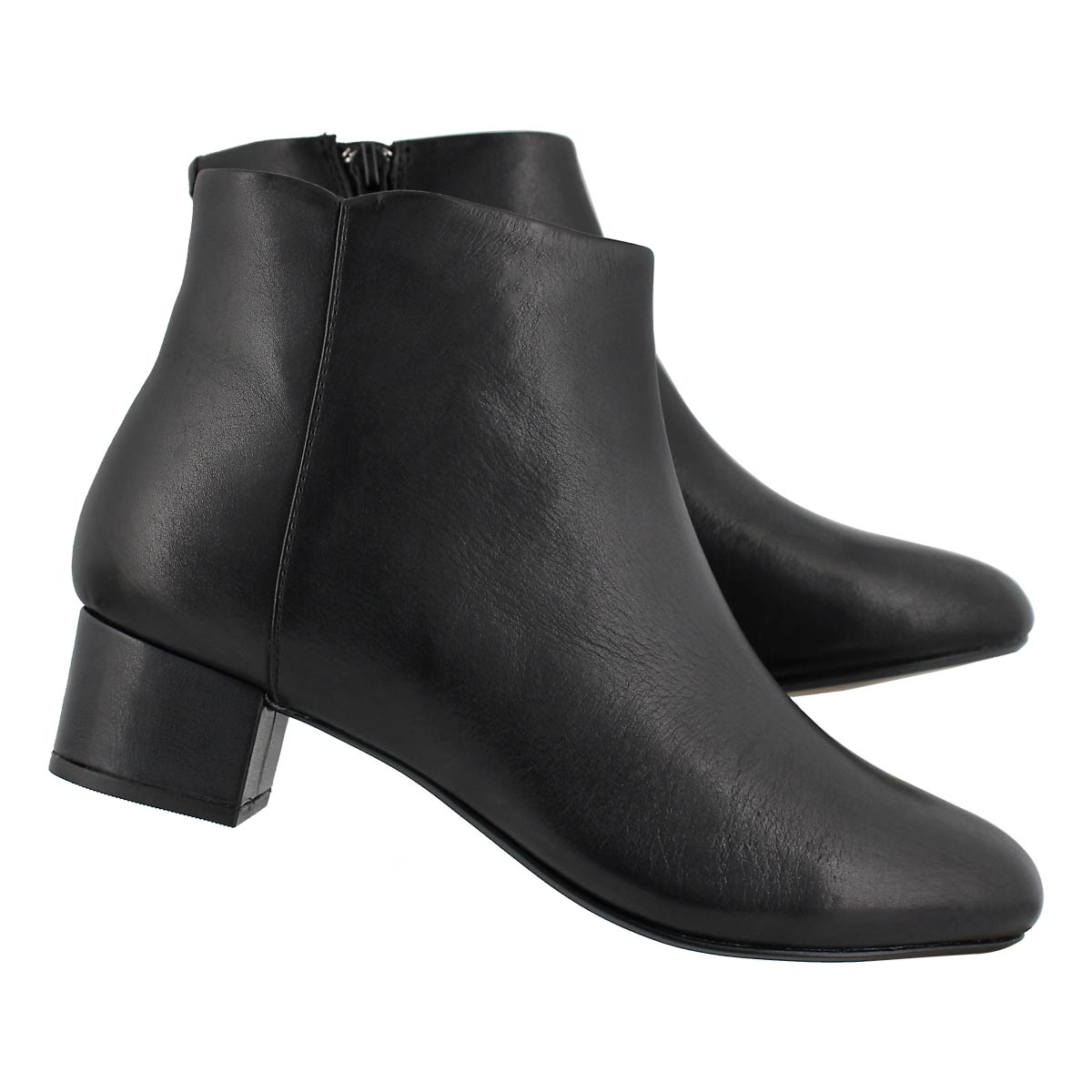 Lds Chartli Lilac blk ankle boot- wide