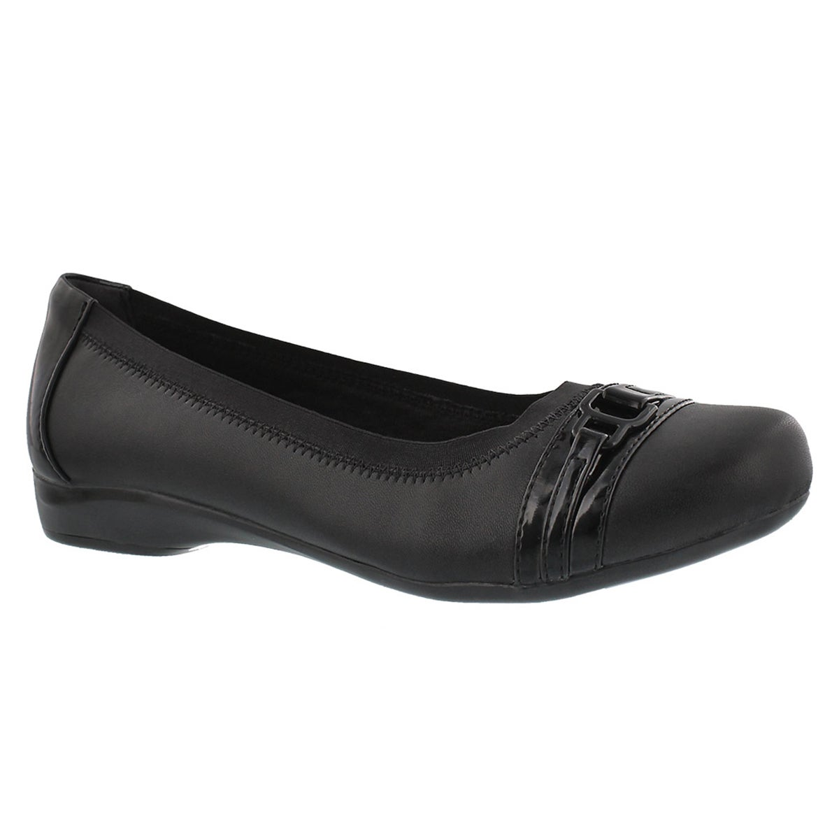 Women's KINZIE LIGHT black flats