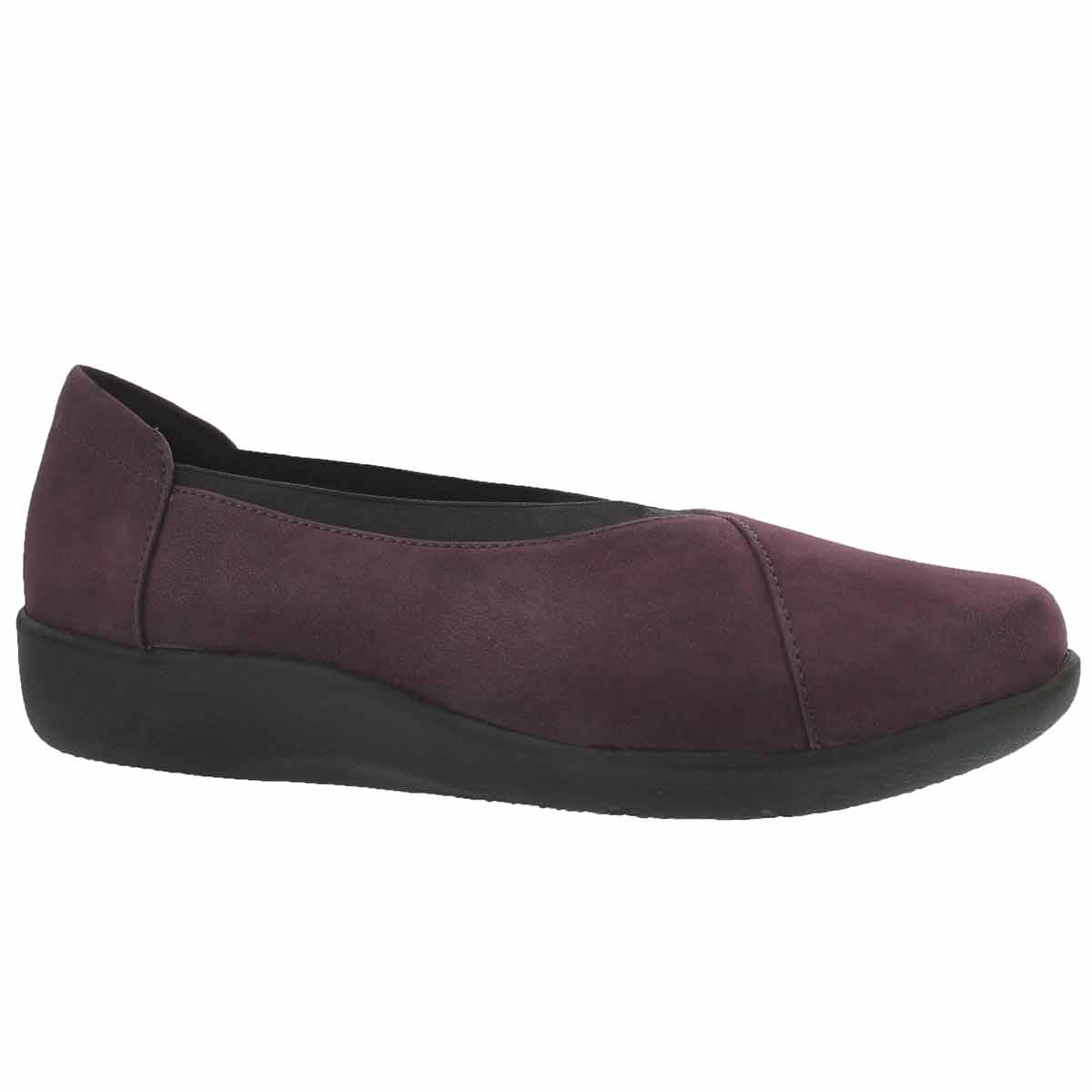 Women's SILLIAN HOLLY aubergine casual loafers